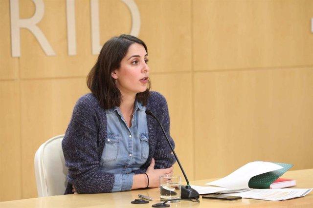 La portavoz del Gobierno de Madrid, Rita Maestre