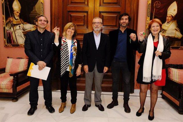 Sevilla.- Entregados cinco locales más del plan municipal de reutilización de in