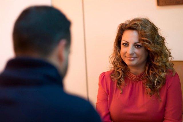 Consejera canaria de Empleo, Políticas Sociales y Vivienda, Cristina Valido