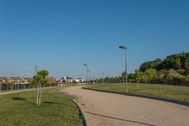 """Majadahonda denominará """"Blas de Lezo"""" al parque lineal de Roza Martin"""