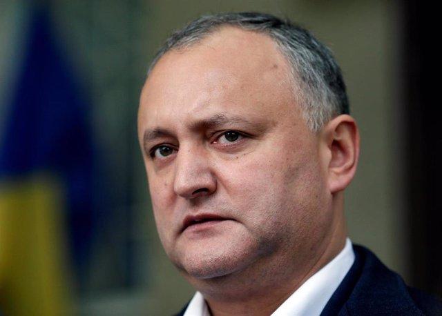 Presidente de Moldavia, Igor Dodon