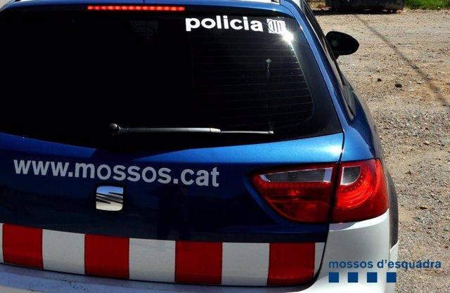Mossos cotxe patrulla
