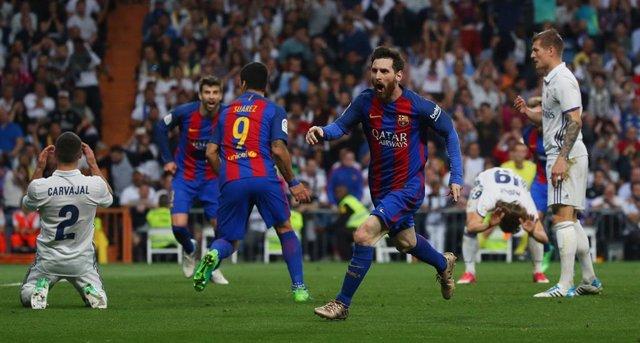 Leo Messi Clásico Real Madrid FC Barcelona