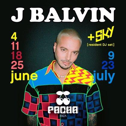 J Balvin anuncia residencia en Pacha Ibiza