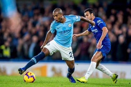 El Manchester City pierde por lesión a Fernandinho y Laporte hasta mediados de marzo