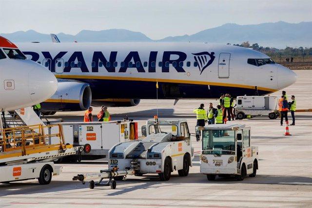 Avió de Ryanair (arxiu)