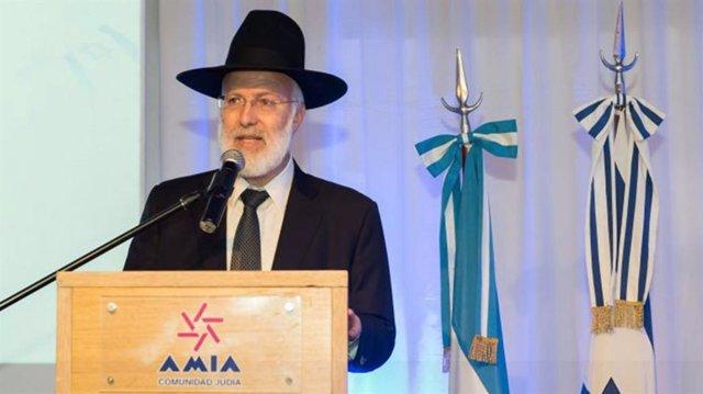 El Gran Rabino de Argentina es atacado en su casa de Buenos Aires