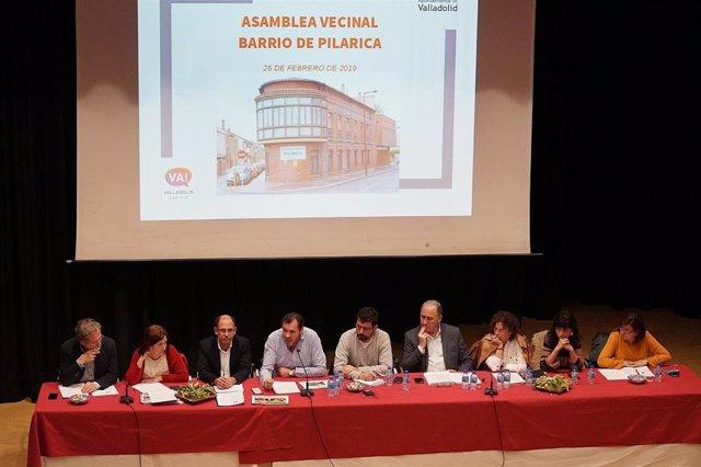 Asamblea Vecinal en Pilarica, en Valladolid