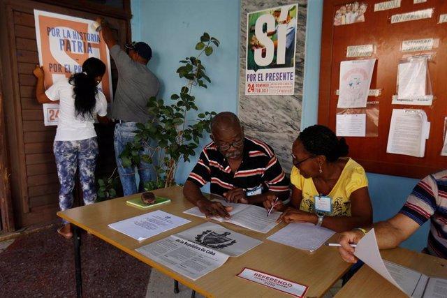 Referéndum constitucional en Cuba
