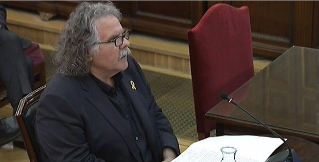 Declaració com a testimoni de Joan Tard en el judici pel procés