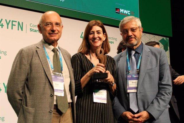 La aplicación Ariadna recibe una distinción en el marco del Mobile World Congres