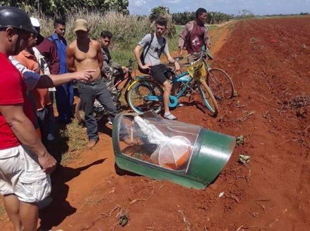 Un avión militar se estrella cerca de La Habana sin víctimas mortales