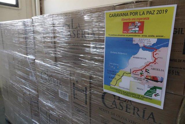 El Ayuntamiento De Mála Informa: Málaga Envía 22.000 Kilos De Alimentos Y 4 Auto