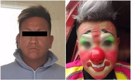 Detienen en México al 'Payaso Totoy' acusado de violar a su hija de 12 años