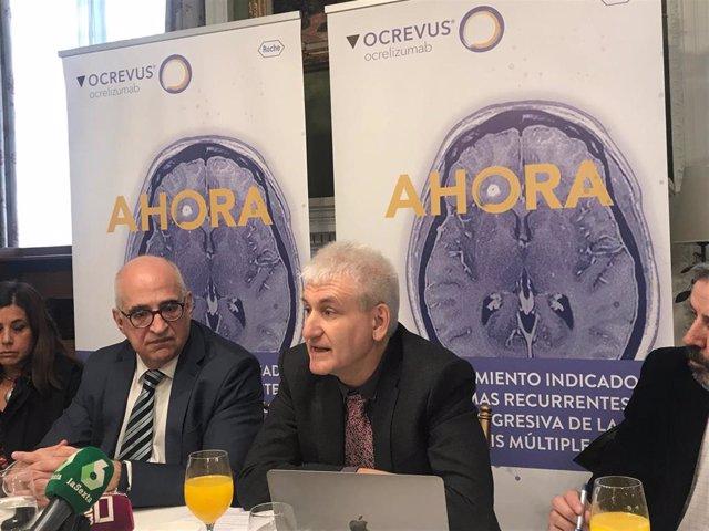 """Disponible en España 'Ocrevus' (Roche), la primera terapia """"eficaz"""" frente a las"""