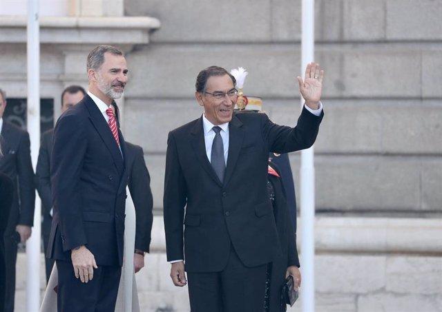 Visita de Estado del presidente de Perú y la primera dama del país