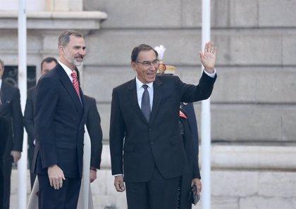 """Vizcarra subraya el """"apoyo firme"""" de España y Perú a Guaidó y su """"compromiso"""" con la vuelta a la democracia"""