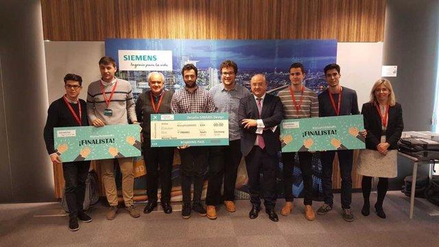 Estudiantes De La UPV Ganan Un Desafío Lanzado Por Siemens Para  Elaborar Un Pro
