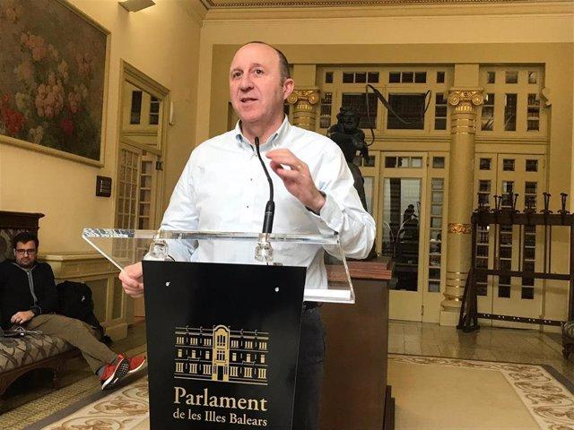 Portaveu del PSIB en el Parlament, Andreu Alcover