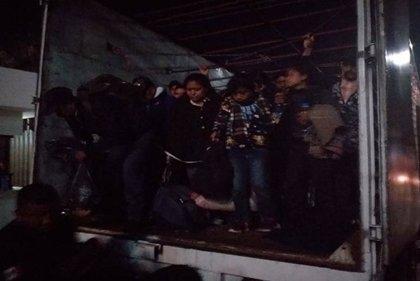 """Rescatan a 234 migrantes ilegales en """"condiciones infrahumanas"""" en Chiapas (México)"""