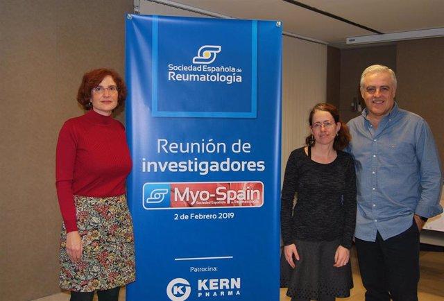 Reumatólogos ponen en marcha 'Myo-Spain' para caracterizar las miopatías inflama