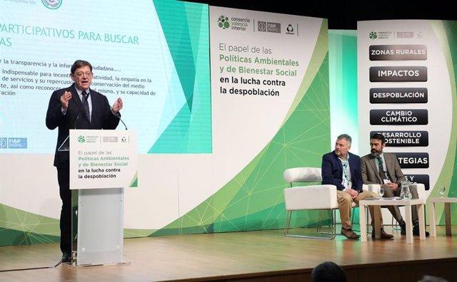"""Puig: """"Tenemos una deuda histórica y moral con los pueblos del interior y la ten"""