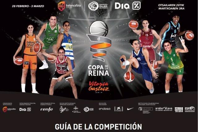 Cartel de la Copa de la Reina de baloncesto