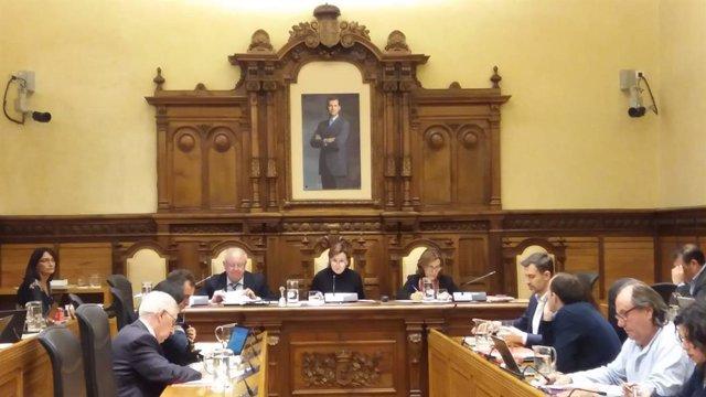 Gijón.- El Pleno en bloque aprueba urgir a Fomento la firma del convenio del Pla
