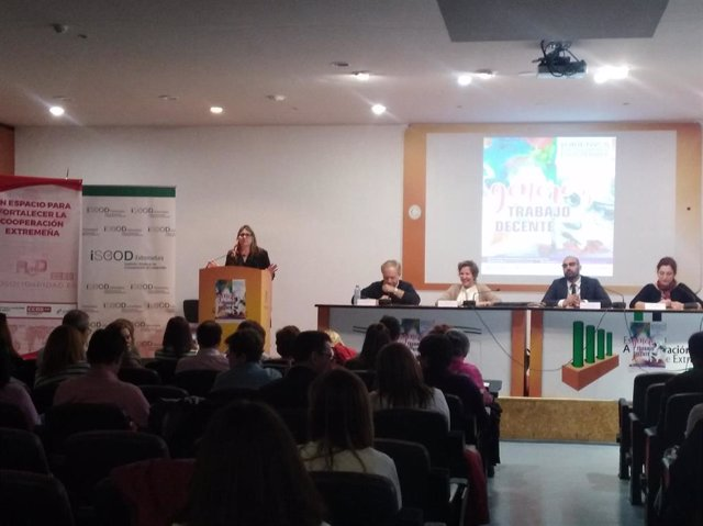 Inauguración jornadas CCOO y UGT