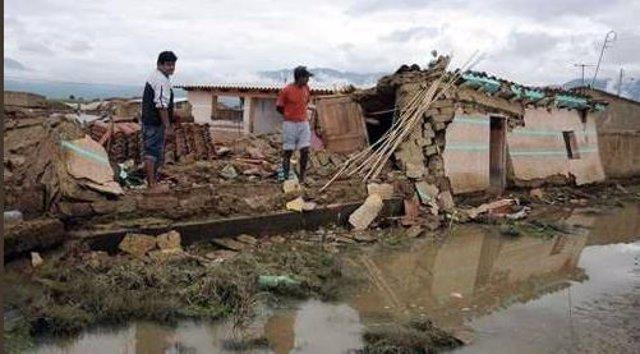 El Gobierno de Bolivia declara emergencia nacional por las lluvias e inundacione