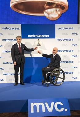 Metrovacesa en su salida a Bolsa