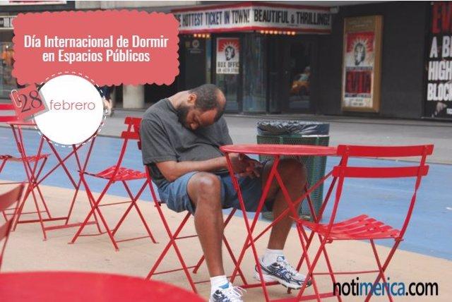 28 De Febrero: Día Internacional De Dormir En Espacios Públicos, ¿Cómo Surgió Es