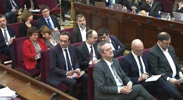 Segona sessió del judici de el 1-0 en el Tribunal Suprem