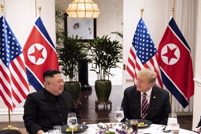 Kim Jong-un i Donald Trump