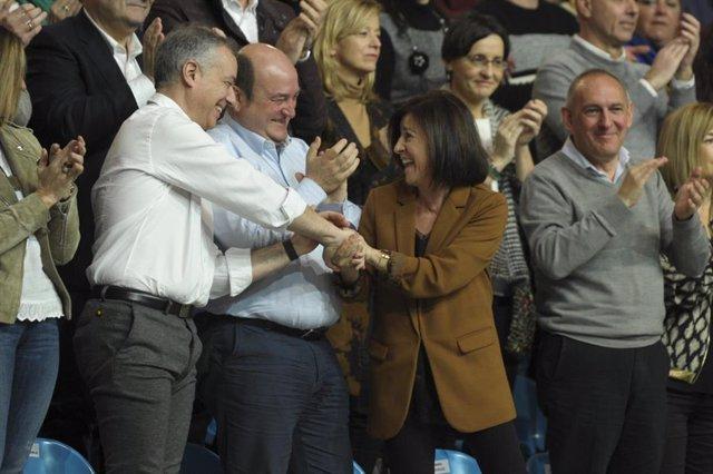 """Ortuzar dice que Urkullu """"más que mediar, intermedió"""" en el problema catalán"""