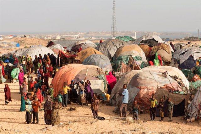 Desplazados internos en Somalia