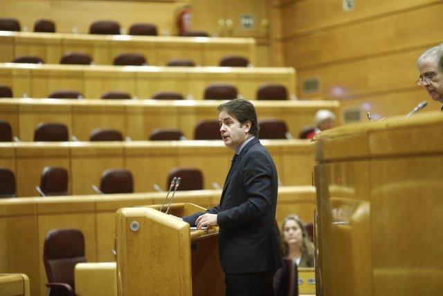 Roberto Bermúdez de Castro compareix al Senat per l'article 155