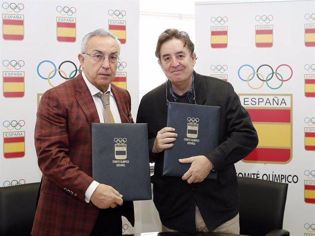 El COE y el Instituto Cervantes firman un convenio de colaboración de cara a Tok