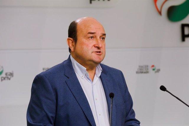 El president de l'EBB del PNB Andoni Ortuzar