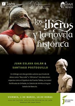 Juan Eslava Galán y Santiago Posteguillo protagonizan este viernes un diálogo li