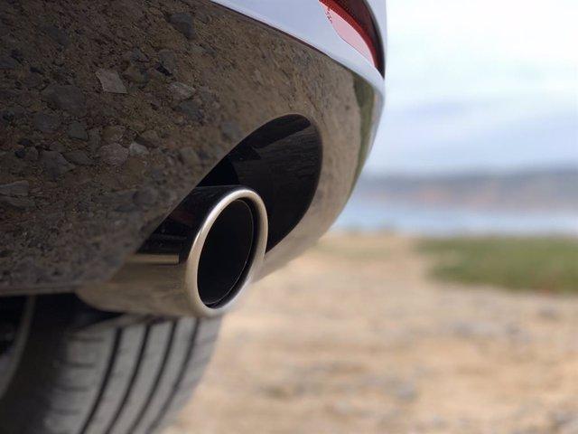 Tub de fuita d'un vehicle