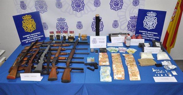 Operación tráfico cocaína Ciudad Real