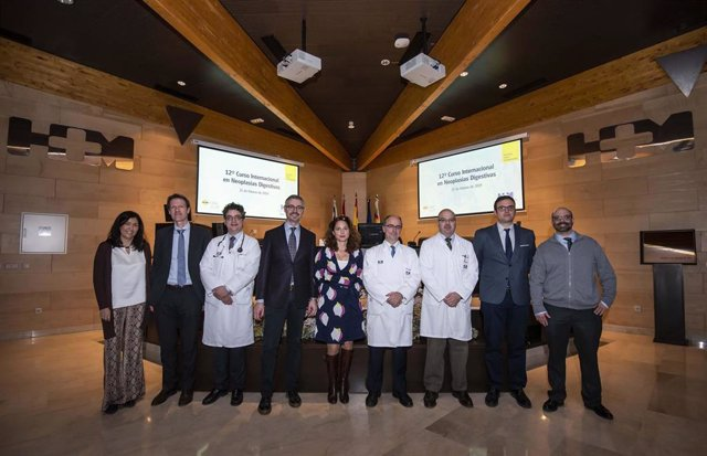 Participantes en el XII Curso Internacional en Neoplasias Digestivas