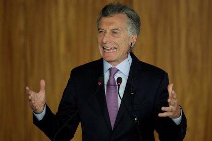 Macri lanza una línea de financiación de 2.500 millones para las pymes en Argentina
