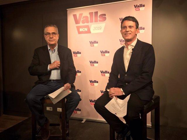 Celestino Corbacho, Manuel Valls (Barcelona Capital Europea)