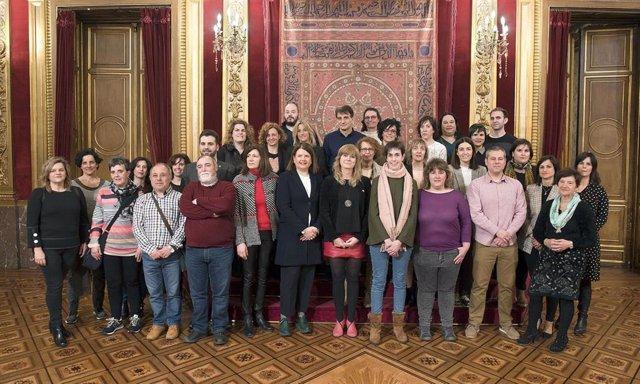 Ollo recibe a seis municipios participantes en un programa piloto de participaci