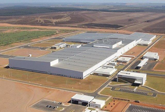 Planta de producción en Itirapina (Brasil)