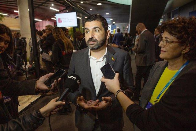Chakir el Homrani a l'MWC 2019