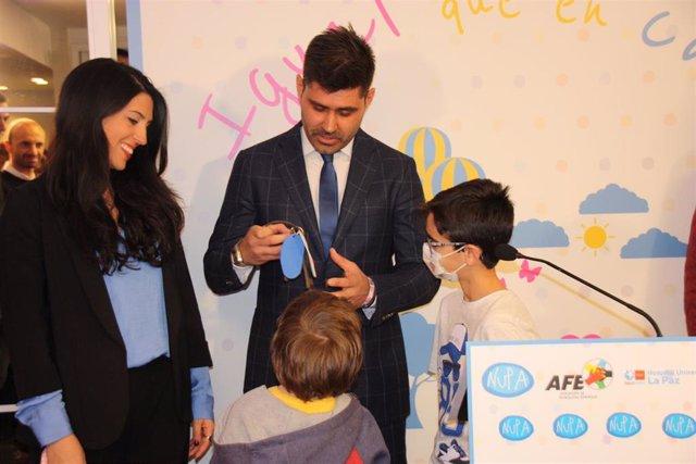 NUPA, la Asociación de Futbolistas y La Paz inauguran una casa de acogida para f