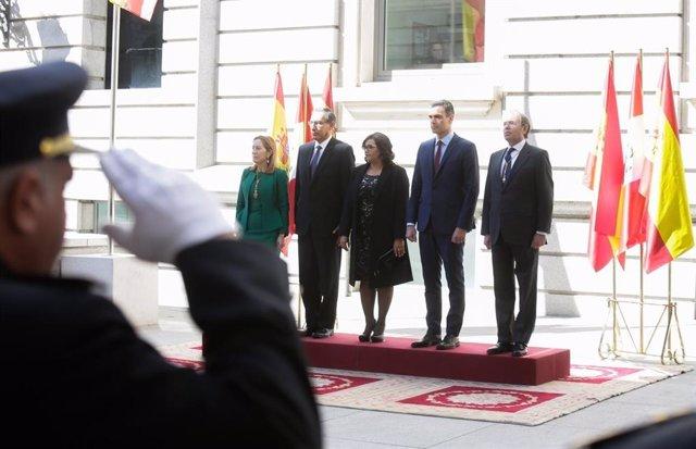 España y Perú reafirman su apoyo a Guaidó y se coordinarán para impulsar eleccio